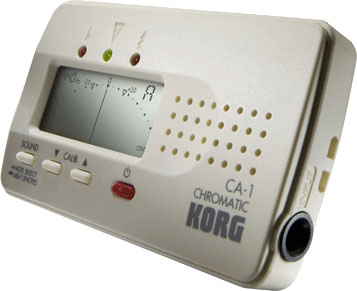 Digital tuner for ethnic instruments KORG CA1