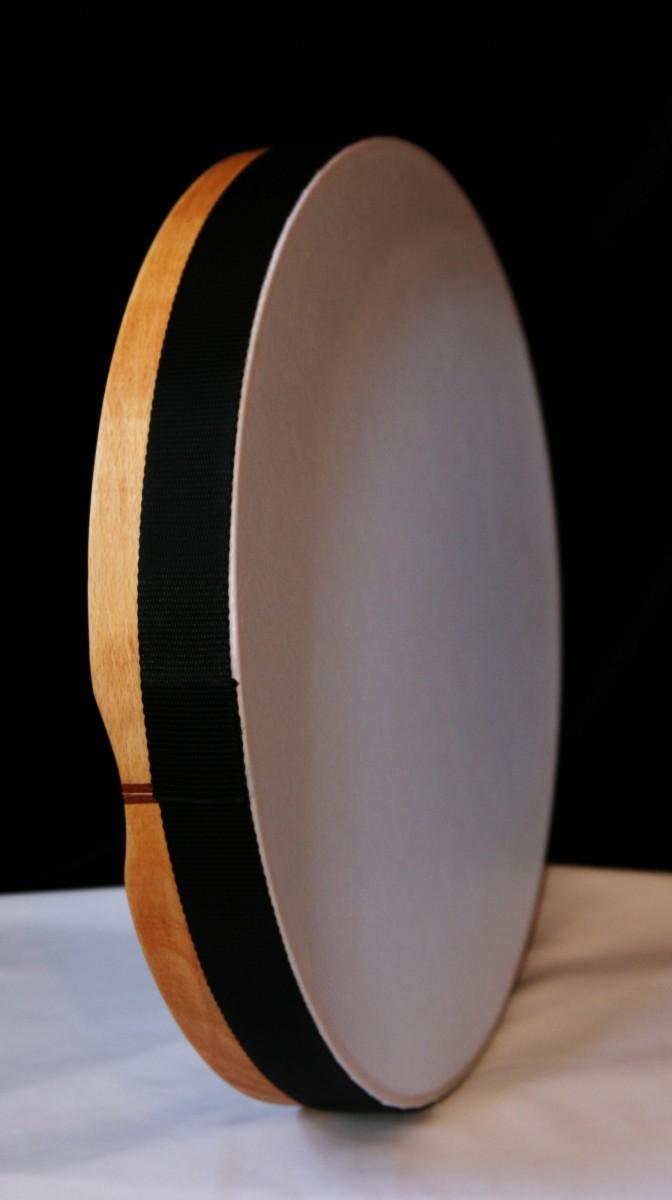 Turkish Bendir synthethic - 18inch tunable, Hornbeam wood