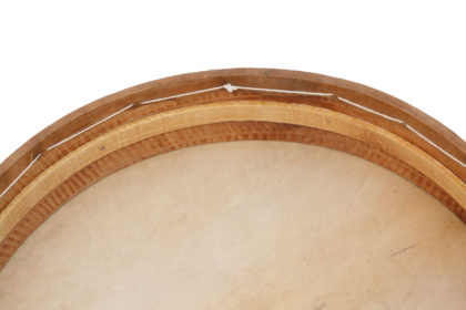 "Frame drum 13.5"" natural skin"