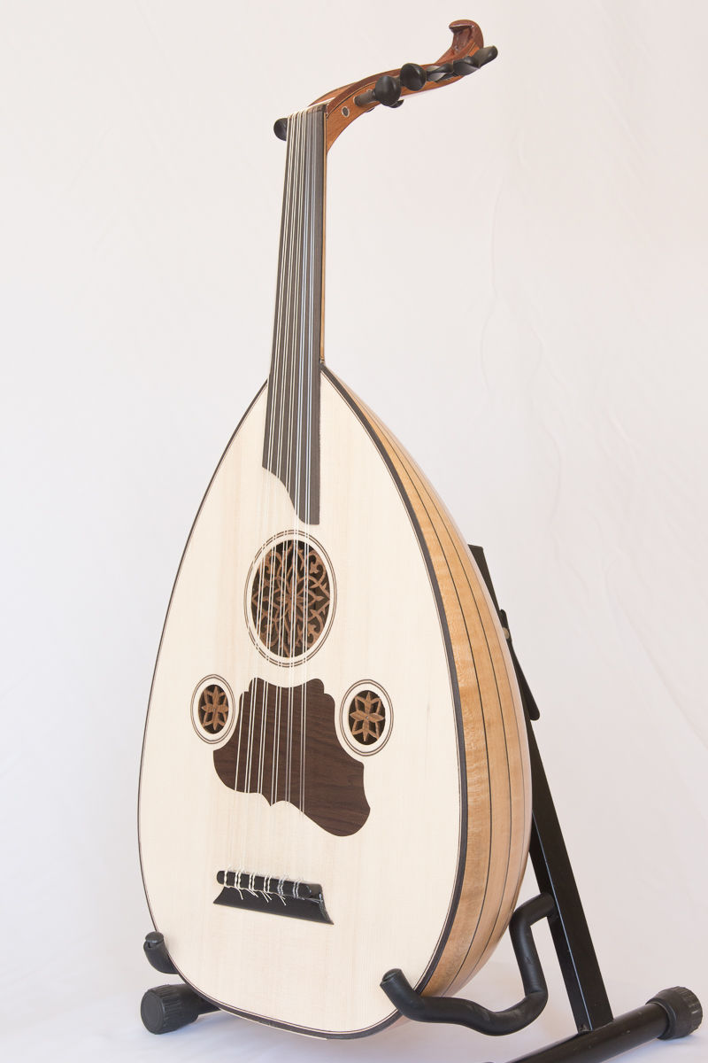 Professional Turkish oud Maple