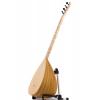 Long neck Turkish saz by Selim Yavuz Izmir Mulberry wood ebony pegs comfortable to play