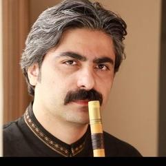 Persian ney player